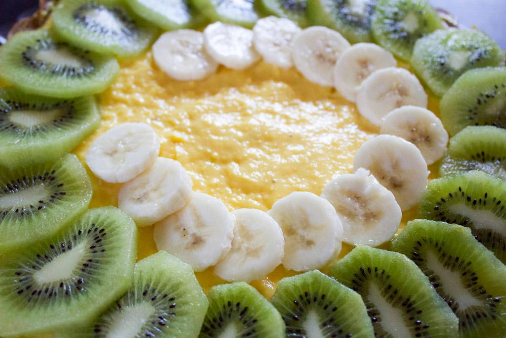 composizione crostata alla frutta