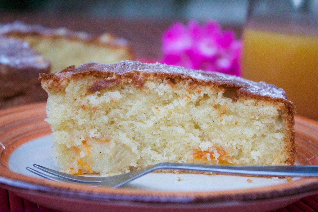 torta pesche e albicocche