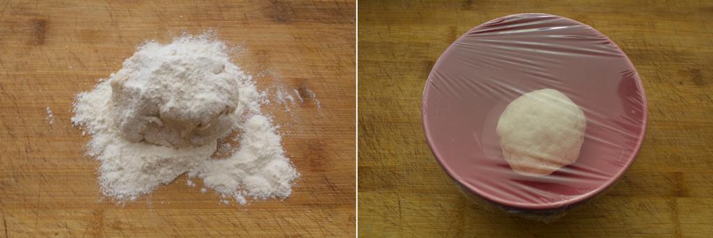 preparazione biga pandoro