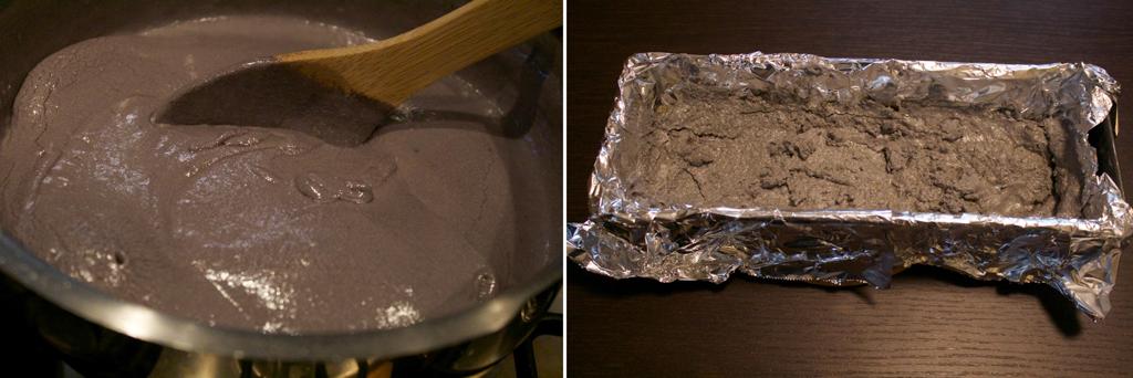 step preparazione carbone dolce