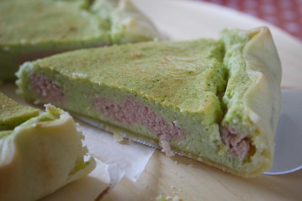 torta salata ricotta zucchine e prosciutto