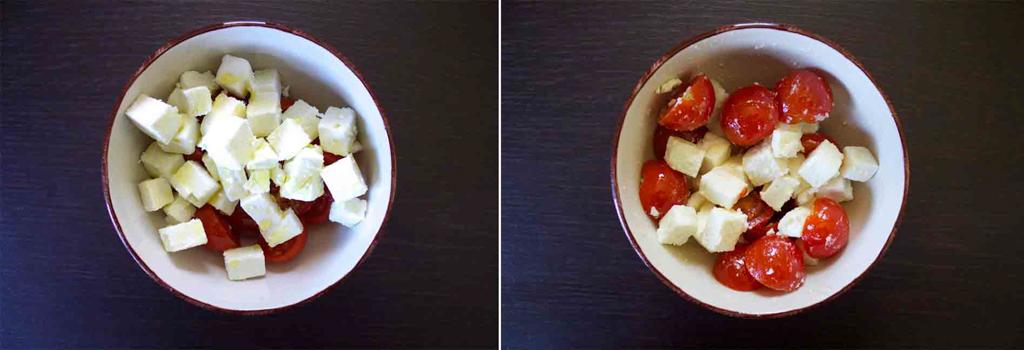 quiche pomodorini feta