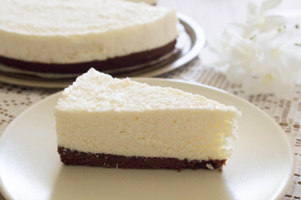 Favoloso Cheesecake alle pesche e amaretti senza cottura UB81