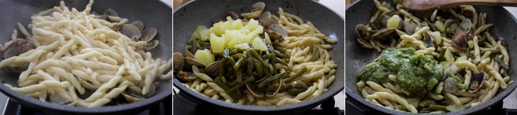 trofie_vongole_fagiolini_pesto_patate_ricetta