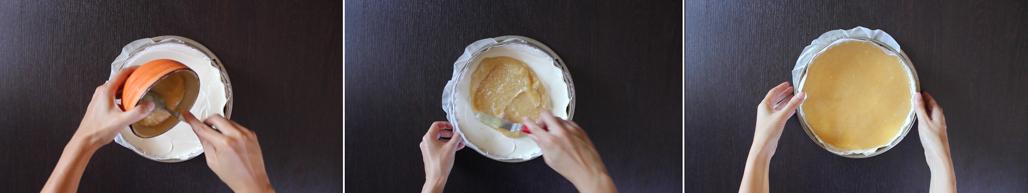 preparazione_cheesecake_pesche_e_amaretti