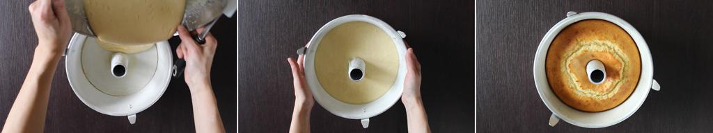 ciambellone allo yogurt e limone, step5