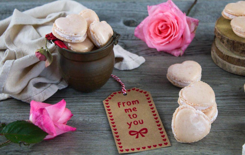 ricetta macarons a forma di cuore per san valentino