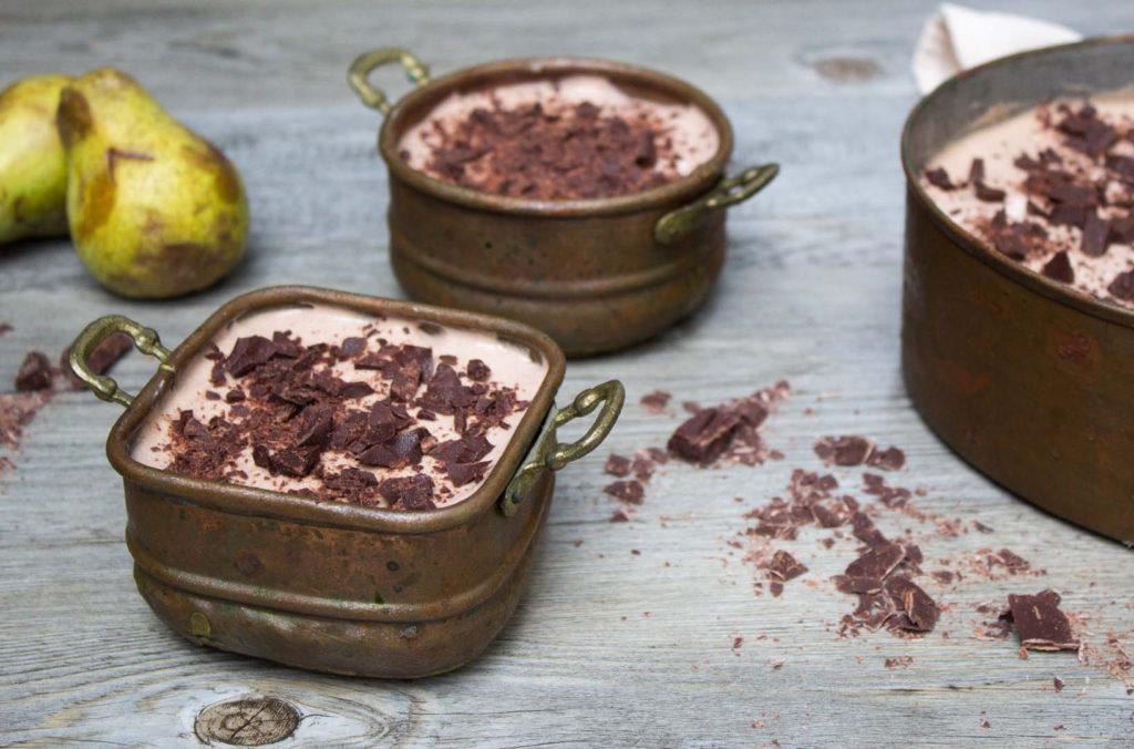 ricetta tiramisu pere e cioccolato