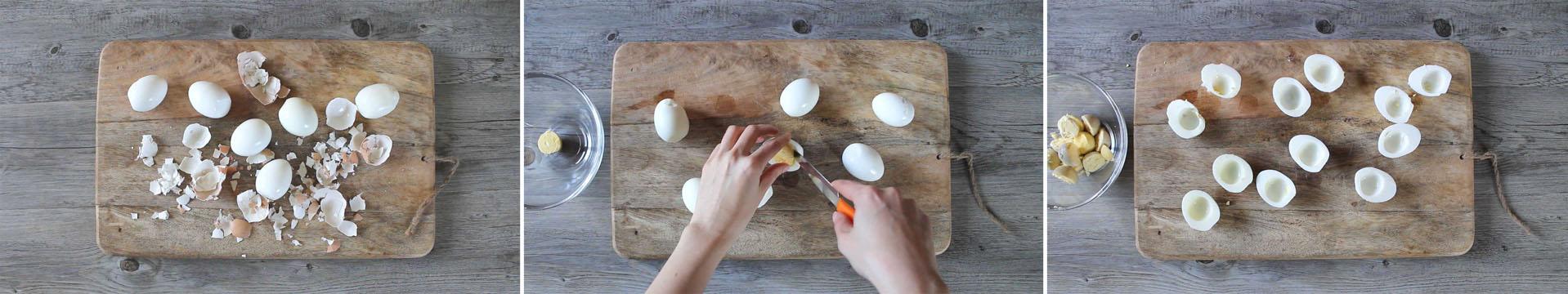 antipasto festa della donna uova
