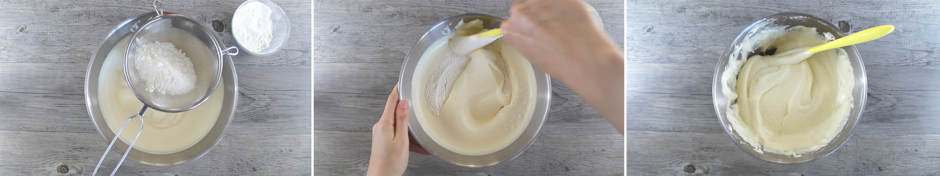 pan di spagna arancia con farina