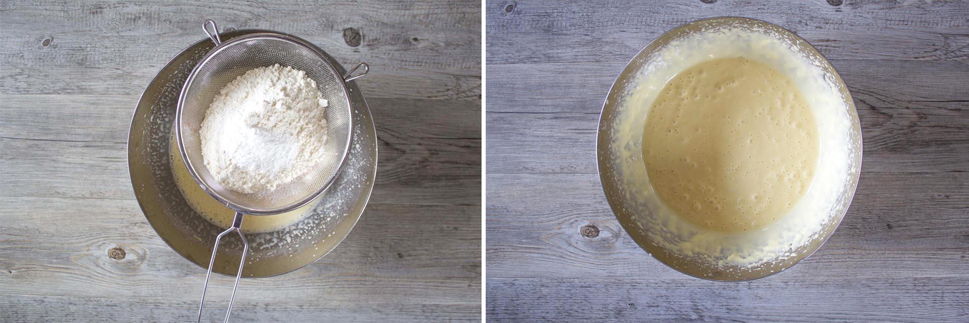 torta olio oliva arance mandorle step3