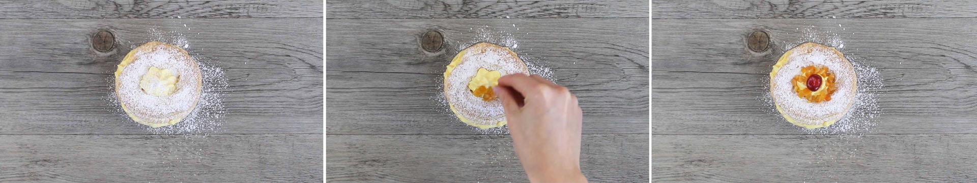 preparazione zeppole di san giuseppe arancia e zafferano