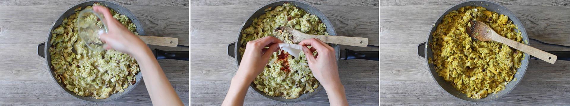 pasta broccoli con zafferano