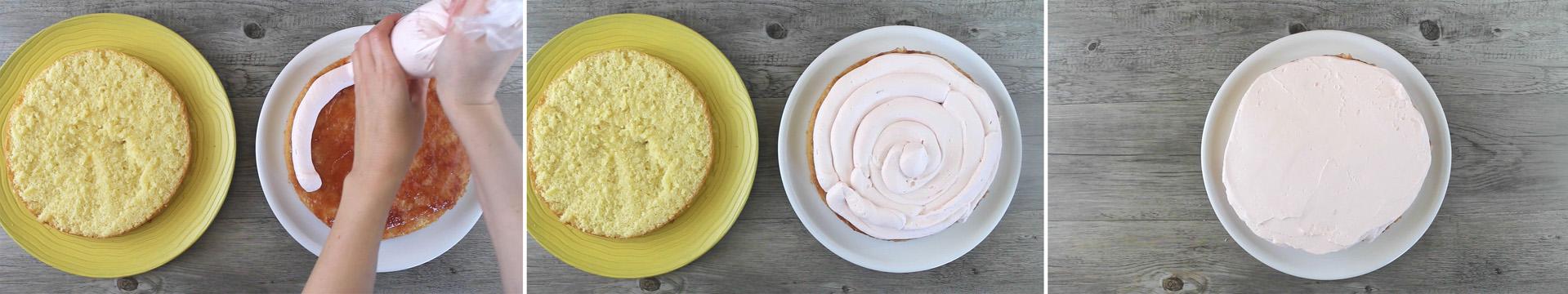 torta fragole arance farcita