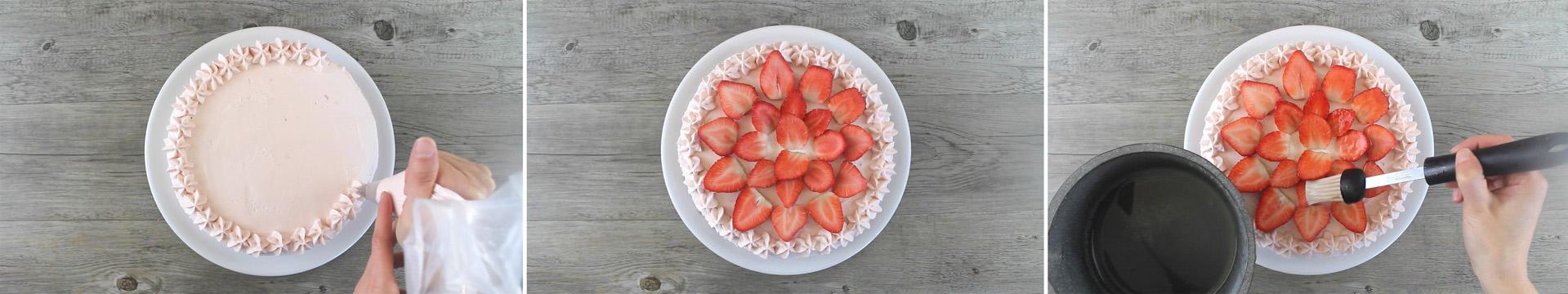 torta fragole fresche