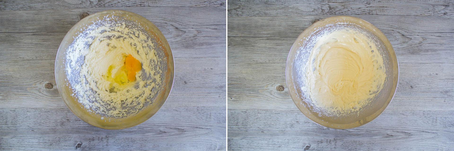 torta cocco ananas con uova
