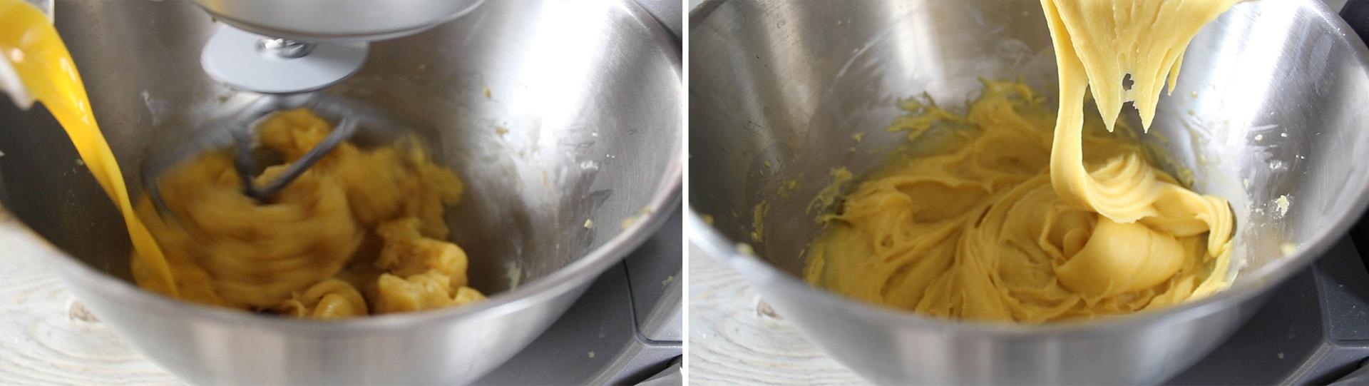 pasta choux impasto