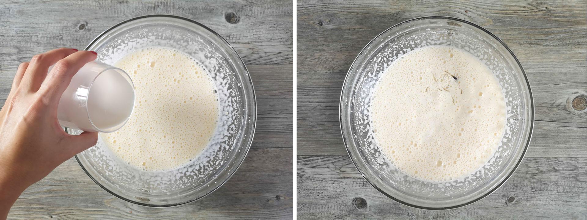 plumcake pere cioccolato latte