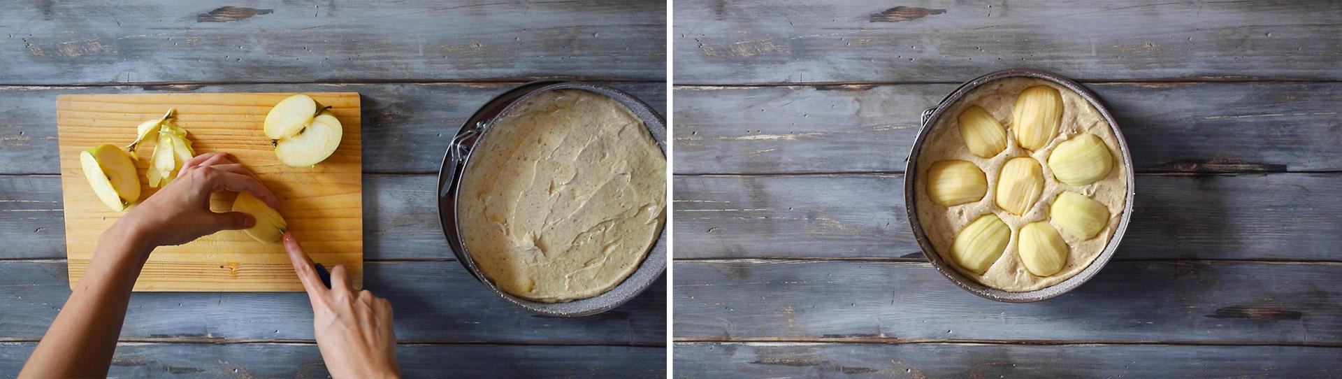 torta di mele e nocciole ricetta