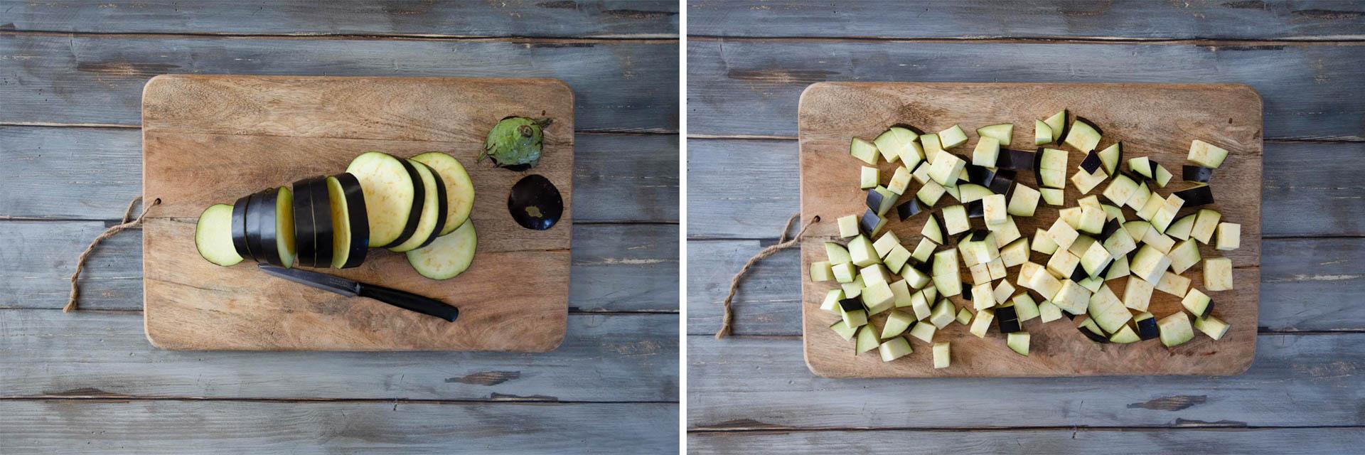 melanzane a tocchetti