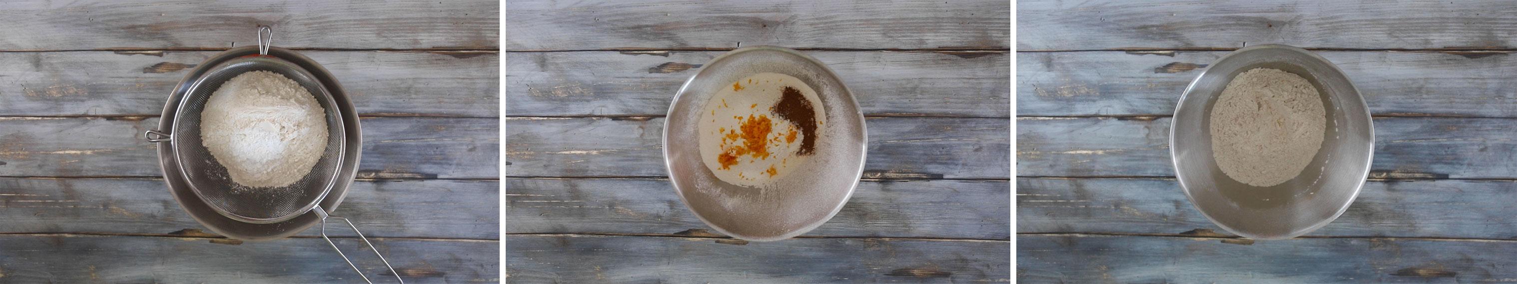 biscotti stelline natale farina arancia
