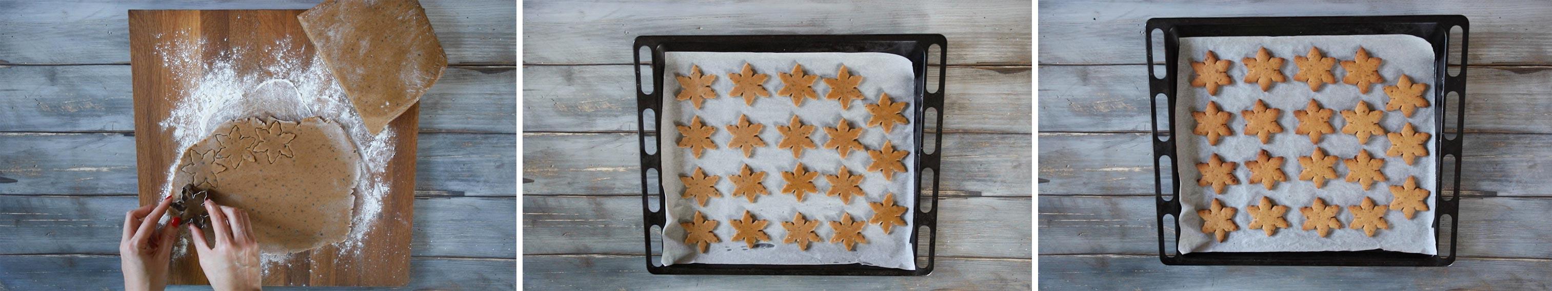 come fare biscotti natalizi a forma di stella