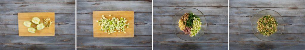 preparazione insalata di cous cous al marsala